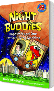 Night Buddies Impostors and One Far-Out Flying Machine book cover