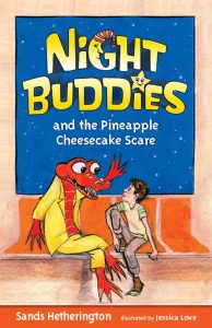 Night Buddies and the Pineapple Cheesecke Scare cover